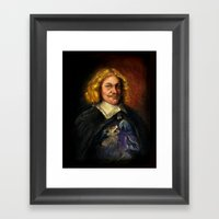 Portrait Of A Sweet Dude… Framed Art Print