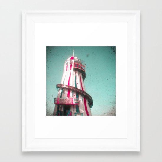 Helter Skelter Framed Art Print