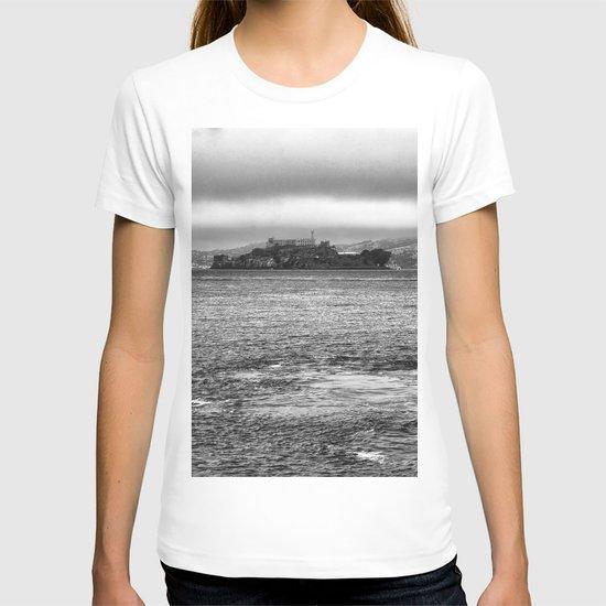 Prison of Alcatraz in san Francisco T-shirt