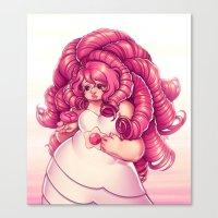Pink Mama Canvas Print