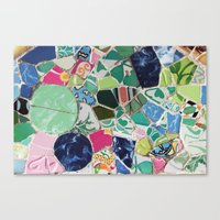 Tiling With Pattern 6 Canvas Print