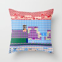 > NES V3 Throw Pillow