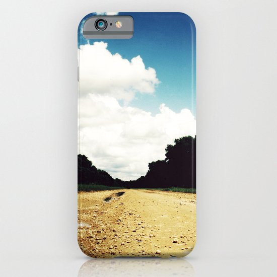 Open Road, Louisiana iPhone & iPod Case