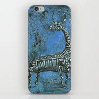 Antelope in Blue iPhone & iPod Skin