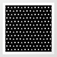 Black And White #2 Art Print