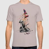 Target Practice Mens Fitted Tee Cinder SMALL