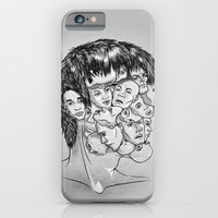 iPhone & iPod Case featuring Face Lock BW by Kerim Cem Oktay