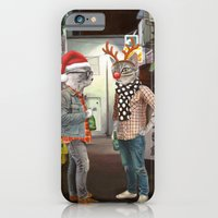 A Cats Night Out Christmas edition iPhone 6 Slim Case
