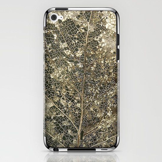 Old gold iPhone & iPod Skin