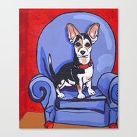 Queen Lucy Canvas Print