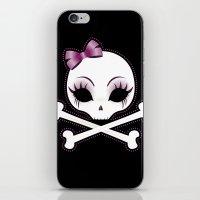 VelusaSkullie iPhone & iPod Skin