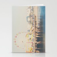 santa monica pier ...  Stationery Cards