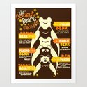 The Coolest Bears on Earth Art Print