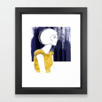 Irma Gold Framed Art Print