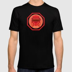 Burn with Me (doctor who) Mens Fitted Tee SMALL Black