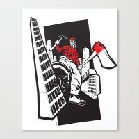 The Lumberjack Canvas Print