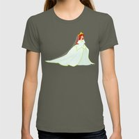 Ariel Womens Fitted Tee Lieutenant SMALL