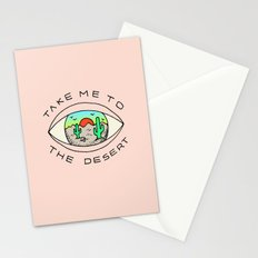 TAKE ME TO THE DESERT Stationery Cards