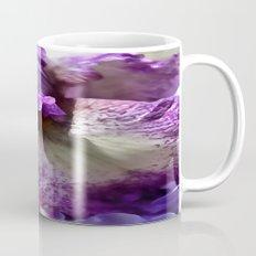 Purple, Violet and Mauve Iris Abstract Mug