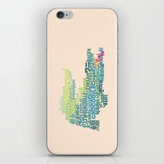 Crocodile in Different Languages iPhone & iPod Skin