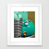Vintage Car Framed Art Print