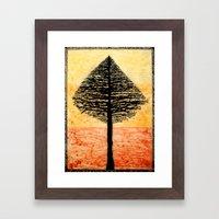 Tree Top. Framed Art Print