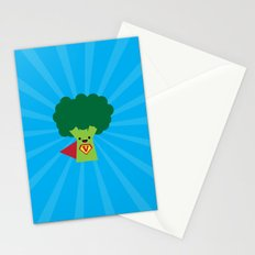 Super Broccoli Stationery Cards