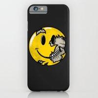 Smiley Face Skull iPhone 6 Slim Case