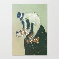 Cut Nose Canvas Print