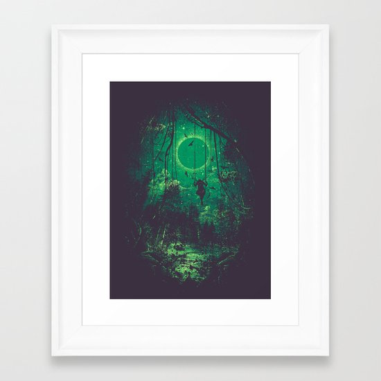 The Ring Framed Art Print