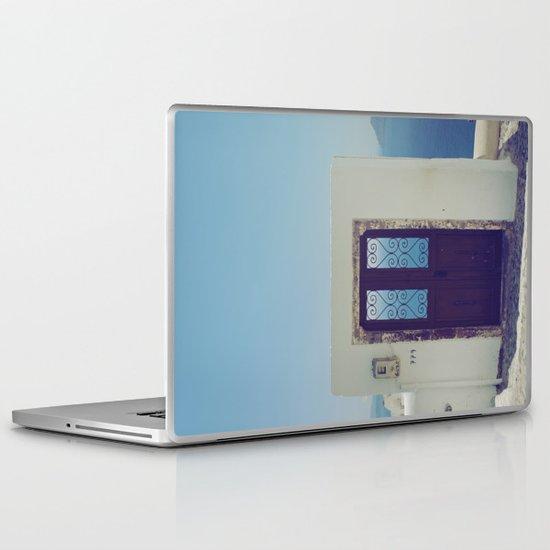 Santorini Door V Laptop & iPad Skin