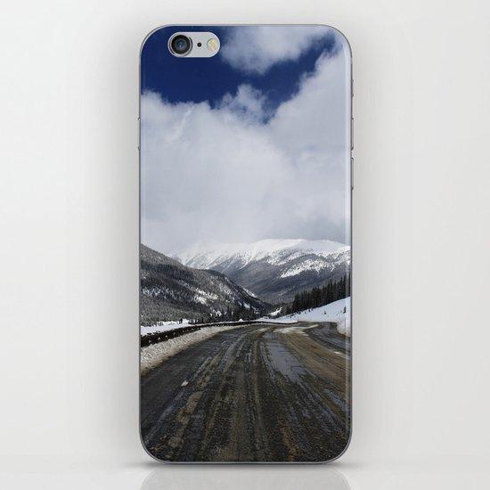 Snowy Road iPhone & iPod Skin