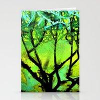 Glass Tree Stationery Cards