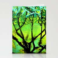 Glass Tree Stationery Cards