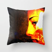 Emotions Within Throw Pillow