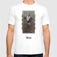 Steve Wozniak in Carbonite Mens Fitted Tee White SMALL