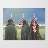 The Mysteries Of Arithmo… Canvas Print
