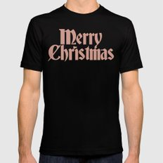 Merry Christmas Candice Version Black Mens Fitted Tee SMALL