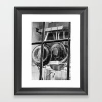 New Orleans - Window To … Framed Art Print