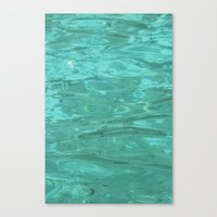 Canvas Print featuring The Water by Elise Tyv