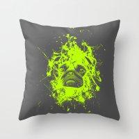 PUG LIFE! Throw Pillow