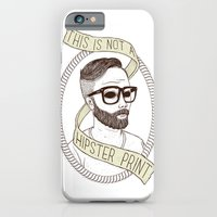 This Is Not A Hipster Print iPhone 6 Slim Case