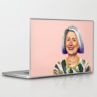 Laptop & iPad Skin featuring Hipstory - Hillary Clint… by Amit Shimoni