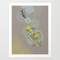 This Is An Adventure | T… Art Print