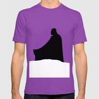 The Empire Strikes Back Mens Fitted Tee Ultraviolet SMALL