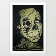 Torn & Exposed Art Print