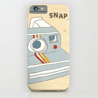 iPhone & iPod Case featuring snap by Pips Ebersole