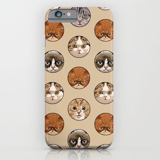 Polka Meaw iPhone & iPod Case
