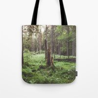 Primary forest Tote Bag