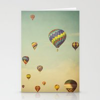 Floating in Space Stationery Cards